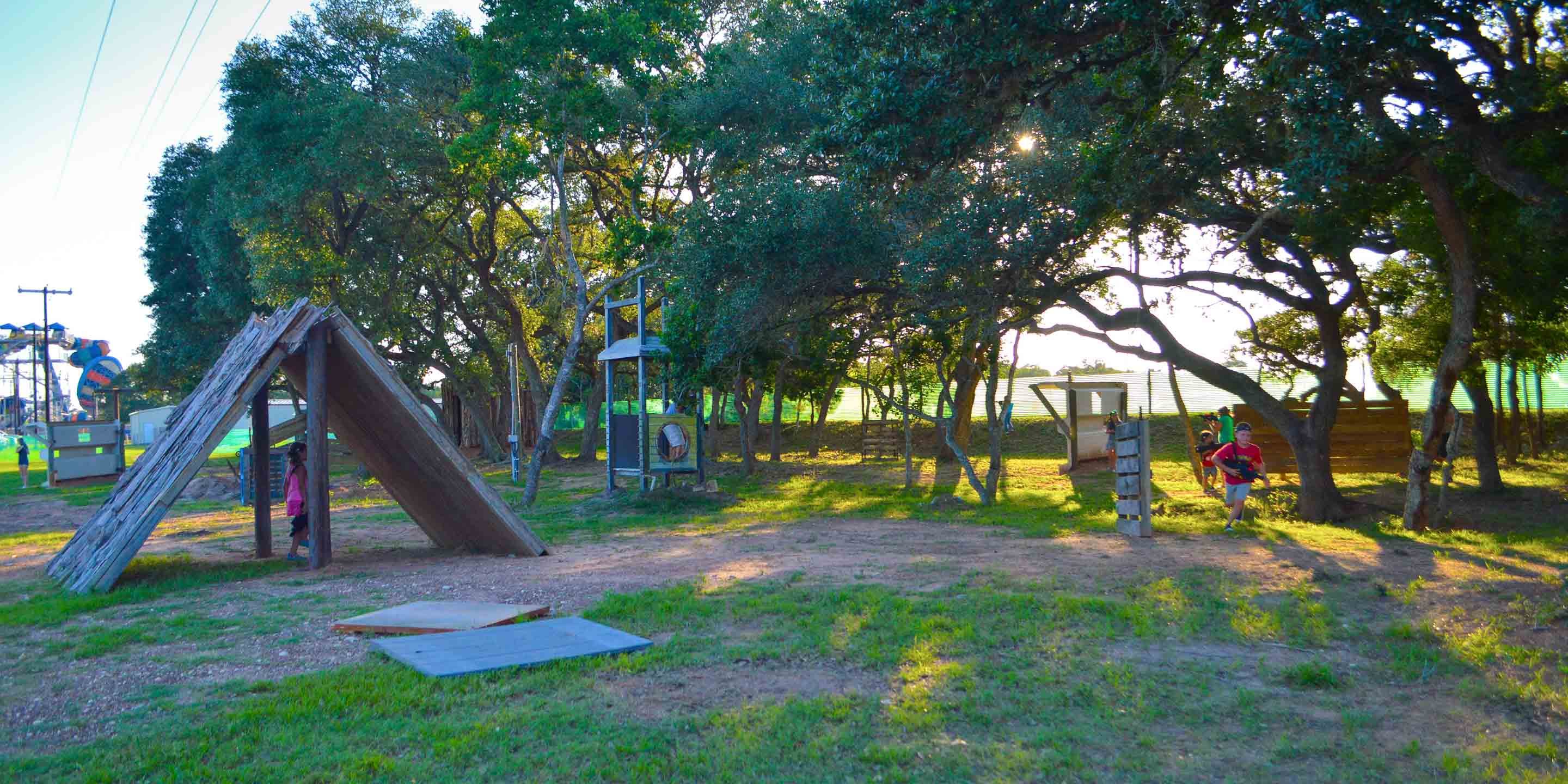 Texas Campground with Laser Tag at Splashway