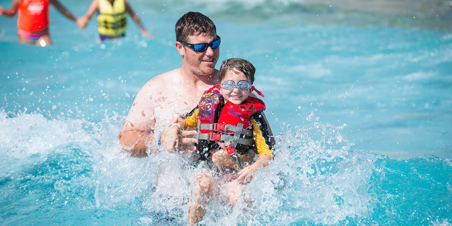 Splashway Wave Pool - Texas Waterpark for Family Fun