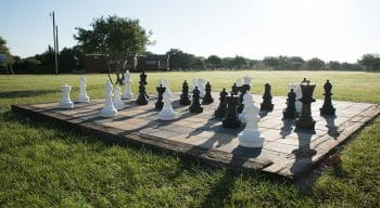 Human sized chess